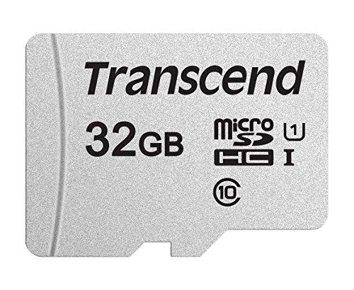 Transcend microSDHCカード 32GB 3D TLC UHS-I Class10 TS32GUSD300S
