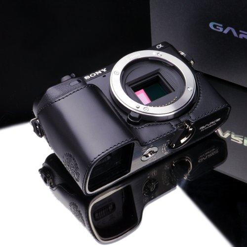 GARIZ ゲリズ SONY ソニー NEX-7 (NEX7)用 本革カメラケース XS-CHNEX7BK ブラック【並行輸入品】
