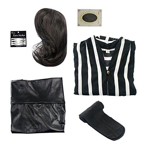Happy Jours【ハッピージョンス】キャリアOL ブルゾンちえみ みたいになれる オリジナル 衣装 コスプレ コスチューム パーティー 仮装 豪華 セット (男性サイズ)