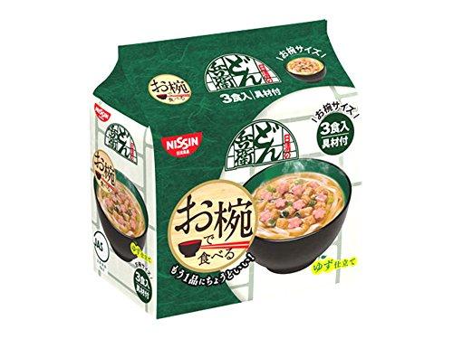 日清食品 お椀で食べるどん兵衛 3食パック 90g