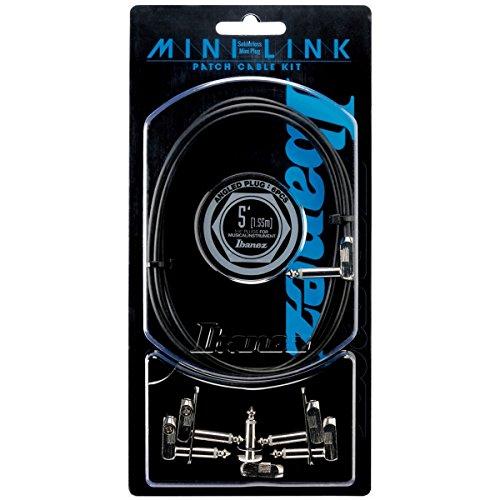 IBANEZ PA01K5L MINI LINK ソルダーレスパッチケーブル自作キット 【最新ソルダーレス ケーブル特集】シールドがハンダ付け しないで差し込むだけで簡単に作れる!エフェクターボードに最適でオススメ!