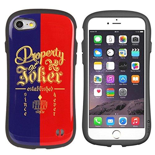 iPhone7 ケース カバー スーサイドスクワッド iFace First Class ストラップホール 正規品 / ジャケット