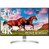 LG モニター ディスプレイ 32UD99-W 31.5インチ/4K(3840×2160)/HDR対応/IPS非光沢/USB Type-C、HDMI×2、DisplayPort/スピーカー搭載/高さ調節、ピボット対応