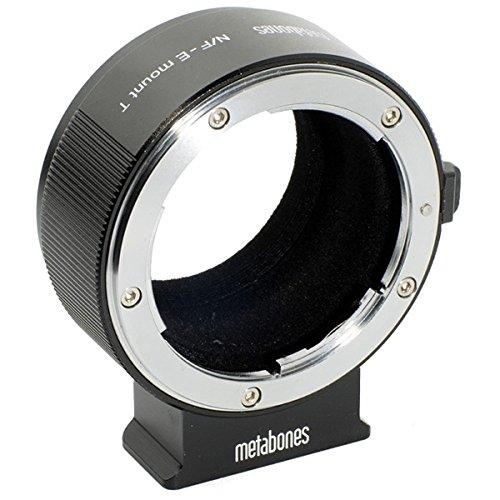 <日本から出荷>日本正規品 METABONES製 SONY NEX Eマウント用 ニコンF アダプター T Ver2, (ブラック)