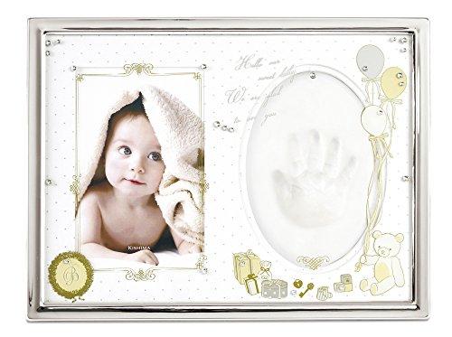 手型付ベビーフレームは出産祝いで人気