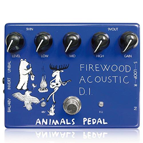 Animals Pedal (アニマルズペダル) Firewood Acoustic D.I. / 3種類のEQ (High、Mid、Low)、エフェクトループを搭載したアコースティックギター用DI 【徹底紹介】ホリエアツシ(ストレイテナー)のエフェクターボード・機材(アコギ用)を解析!ツマミ・ノブの位置も分かる!ギターを支える足元の機材の数々を紹介! #ホリエアツシ #ストレイテナー #STRAIGHTENER【金額一覧】