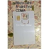 マイクロ SIMカード CDMA コピーカード 未使用カード クローンのSIMカード 10製品があります。