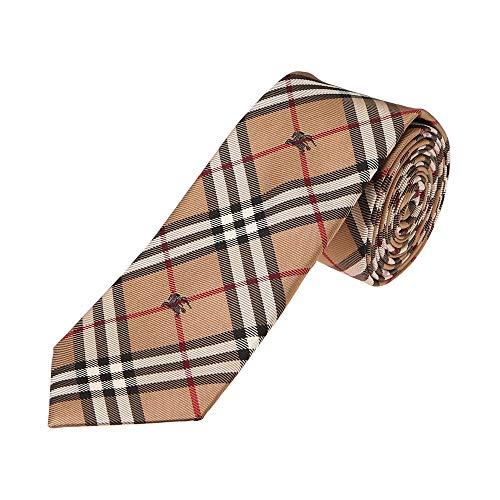 バーバリーのネクタイを単身赴任をするお父さんにプレゼント