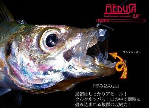 サーティーフォー(34 THIRTY FOUR) MEDUSA メデューサ 2.8インチ 【アジ・メバル】 ぎん
