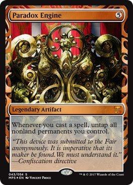 Magic The Gathering Paradoxエンジン–Foil–傑作シリーズ