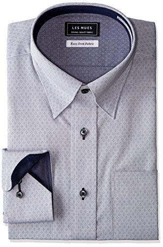 [アオキ] 【シャツ】形態安定 デザインシャツ 選べるバリエーション KIR73001-2 メンズ グレーKIR73006-1 日本 L (日本サイズL相当)