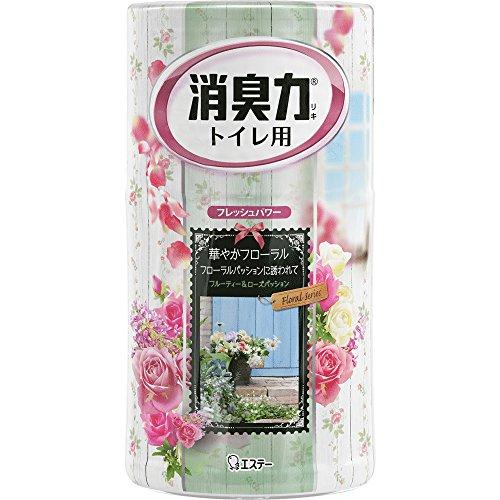 トイレの消臭力 消臭芳香剤 トイレ用 フローラルパッション 400ml
