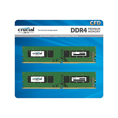 CFD販売 デスクトップPC用メモリ PC4-19200(DDR4-2400) 8GB×2枚 / 288pin / 無期限保証 / Crucial by Micro...