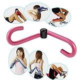 トレーニング男女兼用 内もも簡単エクササイズ ウエスト 大腿筋 内転筋 (ピンク)