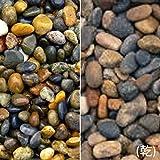マツモト産業 ヤマト天然砂利 金華(きんか)(20kg)(5袋セット) 12-20mm