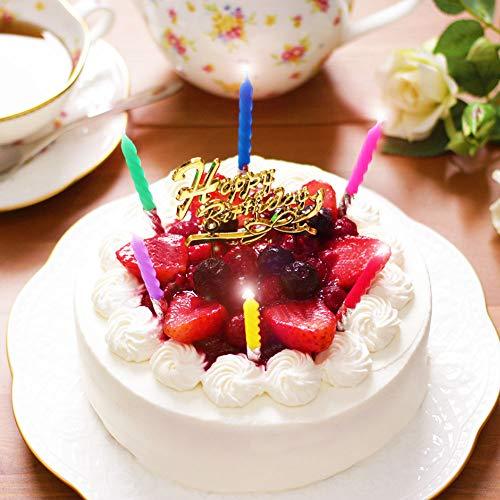 誕生日ケーキ 天使のおくりもの ホワイトベリー 5号 4~6人分 冷凍 解凍12時間 (お届け日時指定・誕生日セット付)