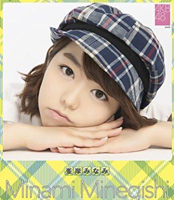 クリアファイル付 (卓上)AKB48 峯岸みなみ カレンダー 2015年