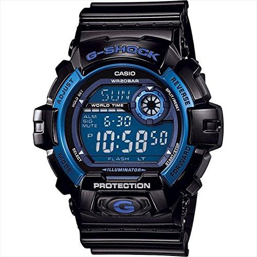 カシオ G-ショック ビッグケース 【腕時計 メンズ ブランド 防水 かっこいい かしお カシオ 黒 ブラック gショック g-shock デジタル カレンダー アラーム 20気圧防水 F7056-04】