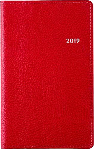 高橋 手帳 2019年 ウィークリー ティーズビュー2 レッド No.170 (2018年12月始まり)