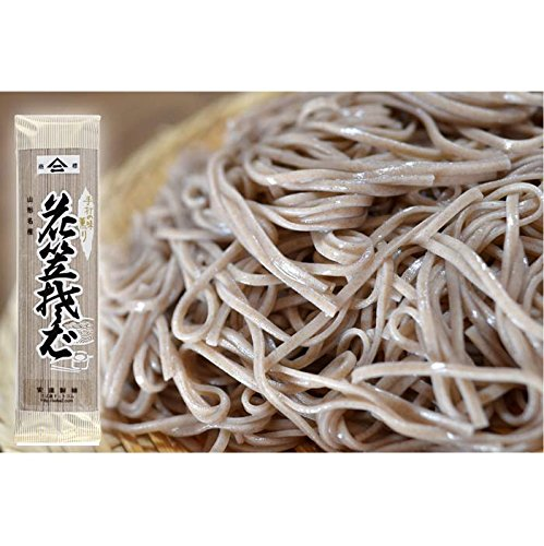 【山形そば通販】山形の乾麺そば【花笠蕎麦】20人前(180g・10把)【安達製麺】