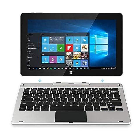Jumper EZpad 6 Pro 2-in-1 11.6インチタッチスクリーンタブレットノートパソコン1920 * 1080 IPSディスプレイ64ビットクアッドコアintel Quad Core CPU 6GB RAM / ROM 64GB [Win10搭載] (6GRAM, 64G)