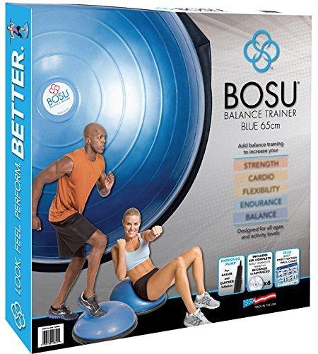 BOSU バランストレーナー ホームバージョン 青 65cm 並行輸入品