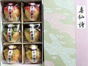 上尾製菓 喜仙詩(おしるこ) 6個入