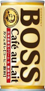 サントリー コーヒー ボス カフェオレ 185g×30本