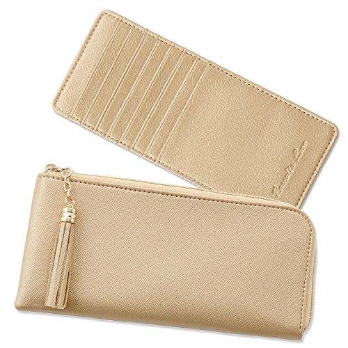 【Raccolta Luce】の長財布はカードが多く入るので60代女性におすすめ