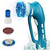 EVERTOP 電動掃除ブラシ 風呂ポリッシャー 乾電池式 防水仕様 コードレス