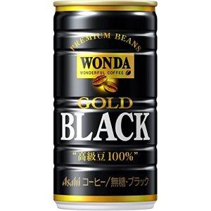 アサヒ飲料 ワンダ ゴールドブラック 185g×30本