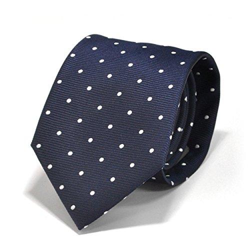 (スミスアンドスコット) Smith & Scott 全60柄 メンズ ビジネス ジャガード織 シルク 100% ネクタイ ストライプ柄 ネイビー ボルドー グレー ntjaw-27 タイプ19 01