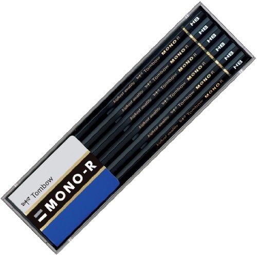 トンボ鉛筆 鉛筆 MONO モノR HB 1ダース プラケース MONO-RHB