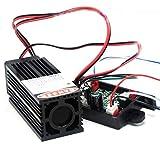 ファットビーム60mW 532nmグリーンレーザードットダイオードモジュール(TTL付)クラス2