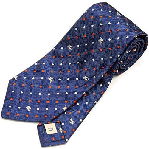 ドット柄のバーバリーのネクタイは上司や営業マンに人気
