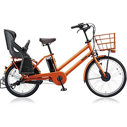 ブリヂストン(BRIDGESTONE) ビッケグリ(bikke GRI) dd BG0B48 E.Xアンバーオレンンジ 子供乗せ自転車