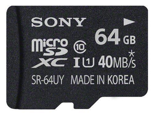 ソニー(SONY) SONY microSDXC 64GB 40MB/s ソニー UHS-I Class10 SR-64UYA SDXC変換アダプター付属 海外向パッケージ品 並行輸入品