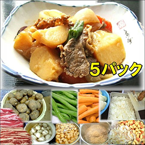 肉じゃが(5パック) [その他]
