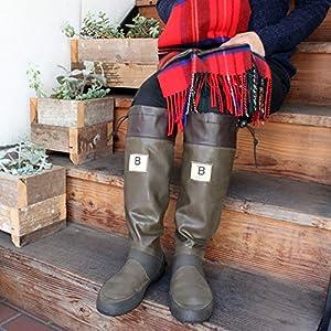 [日本野鳥の会] Wild Bird Society of Japan バードウォッチング長靴 LL(27.0cm) ブラウン