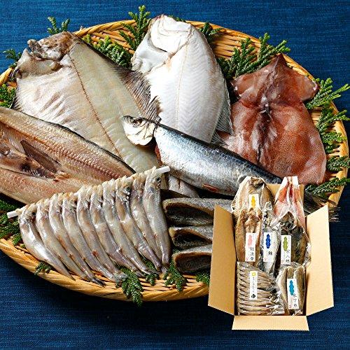 北海道の特選干物を60代の父親に贈る