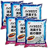 アイリスオーヤマ 紙の猫砂 バイオ消臭 7L×6袋 (まとめ買い)