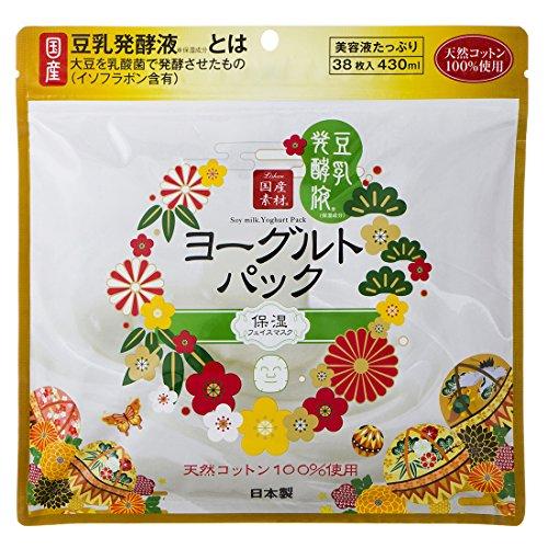 リシャン 豆乳ヨーグルトパック 38枚入り (ヨーグルトの香り)