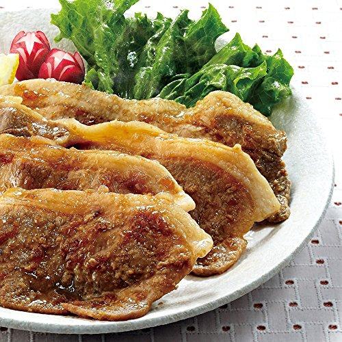 財宝 九州産 純粋黒豚 生姜焼き タレ付 (冷凍) 600g (300g×2)