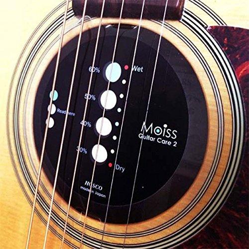 HOSCO MOISS(モイス) Guitar Care ギター用湿度管理/調整ツール クラシックギター用 MOISS2-GC1 【徹底紹介】ギターを湿気から守る対策!湿度を減らしてネック反りやこもった音を防ぐオススメの方法。【ギター・アコギ・クラシックギター・ベース】