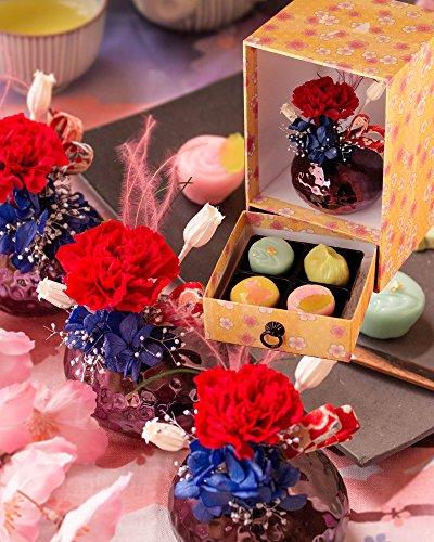 食べた後も楽しめるお菓子を母の日に贈る