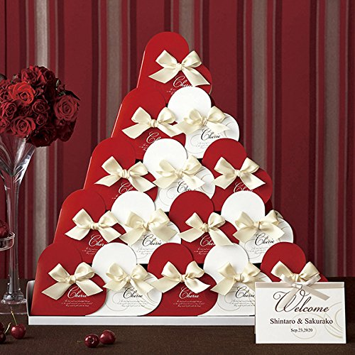 結婚式のプチギフトは見た目もおしゃれなハート形が人気