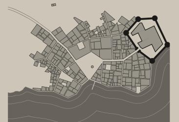 Fantasy city map generator