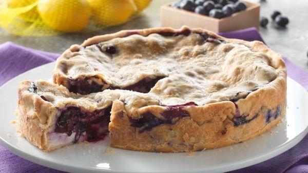 Deep Dish Lemon Blueberry Pie Recipe Pillsburycom