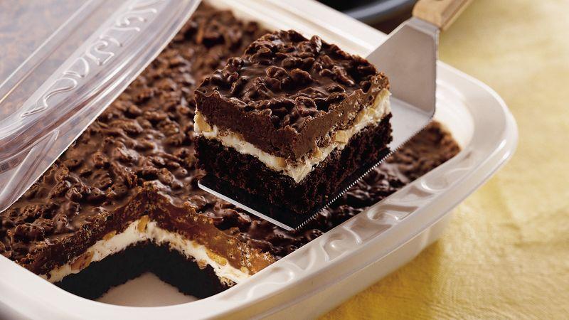 Traditional Brownie Goody Bars Recipe Bettycrocker Com