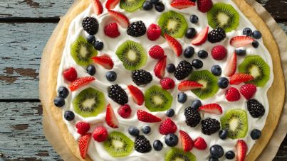 Image result for fruit pizza